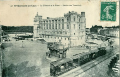 Abeille 43 - St Germain En Laye - Le Chateau et la Place - Station des Tramways - Saint-Germain-en-Laye