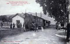 GareCastillonTramElectLabouche1915 - Castillon-en-Couserans