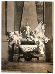 Monument to Marshall Mauritz of Saxe, Strassburg, Alsace Lorraine, Germany-LCCN2002695084