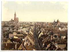 Strassburg, general view, Alsace Lorraine, Germany-LCCN2002695083
