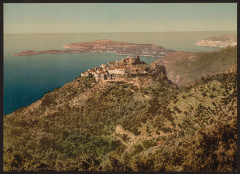 General view, Eze and St. Jean, Riviera-LCCN2001699292