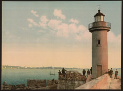 Le phare, Cannes, Riviera-LCCN2001699290