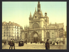 The cathedral, near the east railway station, Paris, France-LCCN2001698524 France