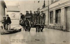 Paris 16e Rue Felicien David. Crue 1910 - Paris 16e