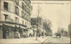 Le boulevard Victor-Hugo - Clichy