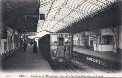 Chemin de Fer Métropolitain - Gare de Grenelle - Paris 15e