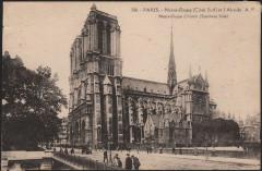 Notre-Dame (Côté Sud) et l'Abside - Paris 5e