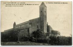 St Emilion chapelle Nd de Mazerat - Saint-Émilion