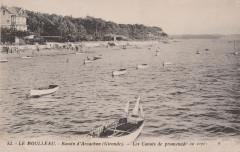 Le Moulleau - Bassin d'Arcachon - Les Canots de promenade au repos - La Teste-de-Buch