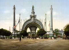 Grand entrance, Exposition Universal, 1900, Paris, France - Paris 1er