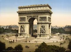 Arc de Triomphe de l'Etoile, Paris, France, ca. 1890-1900 - Paris 16e