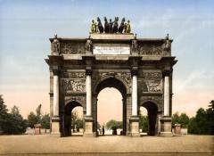 Arc de Triomphe du Carrousel 1890-1900 - Paris 1er