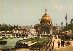 Exposition Universal 1889 Paris France - Paris 16e