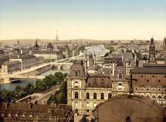 Vue Panoramique des Sept Ponts - Paris 4e