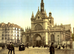 The cathedral, near the east railway station, Paris, France France