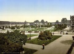 The Louvre, Paris, France, between ca. 1890 and ca. 1900 - Paris 1er