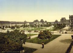 The Louvre, Paris, France, ca. 1890-1900 - Paris 1er
