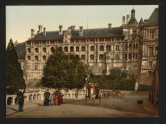 The Castle, wing of Francis I, the facade, Blois, France-LCCN2001697584 France