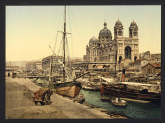 The cathedral, Marseilles, France-LCCN2001698447 France