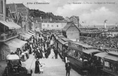 Cote d'Emeraude - Cancale - La Houle - Le depart du Tramway 35 Cancale