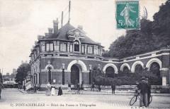 67 Fontainebleau - Hôtel des Postes et Télégraphes - Fontainebleau