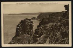 Cap Fréhel - Découpure des falaises - Plévenon