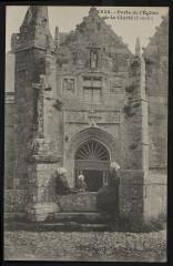 Perros-Guirec - Porte de l'église de la Clarté - Perros-Guirec