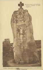 Pleumeur-Bodou - Menhir-calvaire de Saint-Duzec - Pleumeur-Bodou