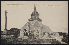Le Calvaire et l'Eglise (XIIe siècle) - Perros-Guirec
