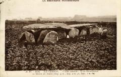 Pleumeur-Bodou - Allée couverte Ty ar Gorandonizet ou maison des naines - Pleumeur-Bodou