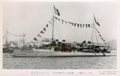 Yataga, destroyer français France