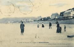 La partie de Croquet sur la Plage de Saint-Efflam - Saint-Michel-en-Grève