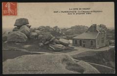 Ploumanach'h - Le Chapeau de Napoléon dans la propriété Eiffel - Perros-Guirec