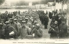 Saint-Brieuc - Convoi de soldats allemands prisonniers - Saint-Brieuc