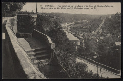 Dinan - Vue générale sur la Rance et la Tour Sainte-Catherine - Dinan