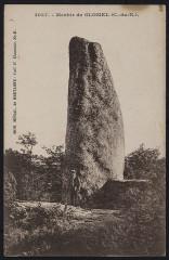 Glomel - Menhir de Glomel - Glomel