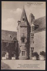Hénon - Château du Colombier détail d'une tourelle - Hénon