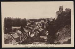 Lamballe - Chapelle de Penthièvre qui domine la ville basse - Lamballe-Armor