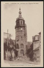 Lamballe - Clocher de l'église Saint-Jean - Lamballe-Armor