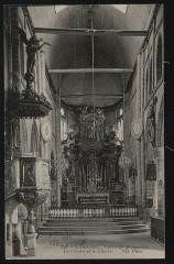 Brélévenez - Eglise chaire et choeur - Lannion