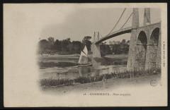 Lézardrieux - Pont suspendu - Lézardrieux