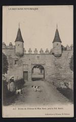 Erquy - Entrée du château de Bien Assis 22 Erquy