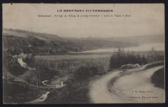 Glomel - Barrage de l'étang du Corong alimentant le canal de Nantes à Brest - Glomel
