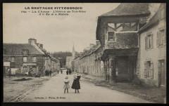 La Chèze - Hôtellerie des Trois-piliers et rue de la Madeleine - La Chèze