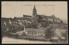 Lannion - Escaliers et église de Brélévénez - Lannion