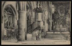 Brélévenez - Eglise de Brélévénez intérieur - Lannion