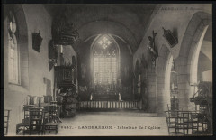 Landebaëron - Intérieur de l'église - Landebaëron