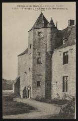 Le Leslay - Tourelle du château de Beaumanoir - Le Leslay