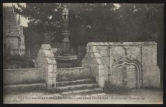 Loguivy-lès-Lannion - Deux fontaines entrée du Cimetière - Lannion