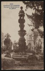 Loguivy-lès-Lannion - Fontaine Renaissance en granit - Lannion